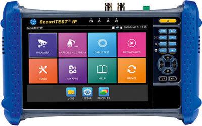 Testinstrument för CCTV-kameror