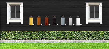 Färgade fasadskåp från Nexans