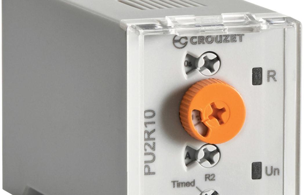 Nya tidreläer från Crouzet