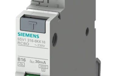 Nu är den här: Siemens nya unika kompakta Personskyddsbrytare!
