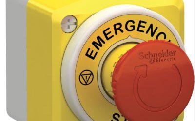 Bygg säkrare maskiner med Harmony nödstopp