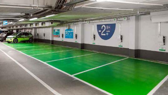 EVlink laddsystem för garage