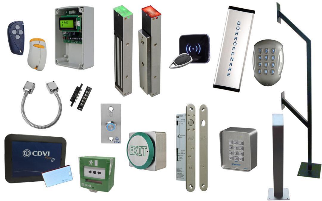 CDVI – Ny leverantör av säkerhetsprodukter