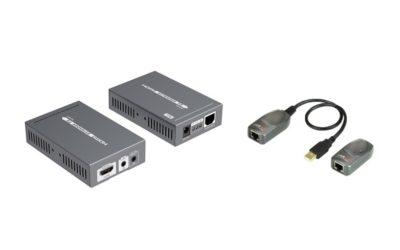 Förläng HDMI / USB via datanätet