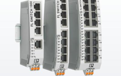 Phoenix släpper switchar i smalt utförande – snabb och flexibel montering