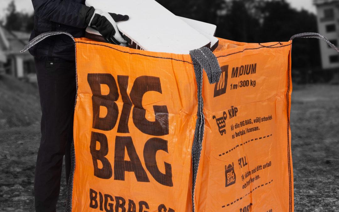 Förenkla din avfallshantering med BIG BAG