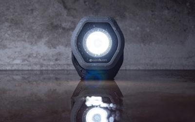Arbetslampa D2r uppladdningsbar 700 Lumen  och D4r uppladdningsbar 1400 Lumen