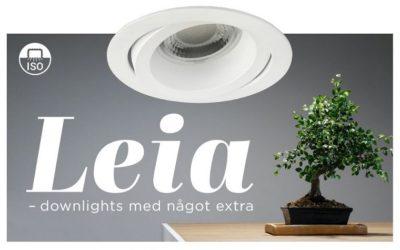 Leia-downlights med något extra